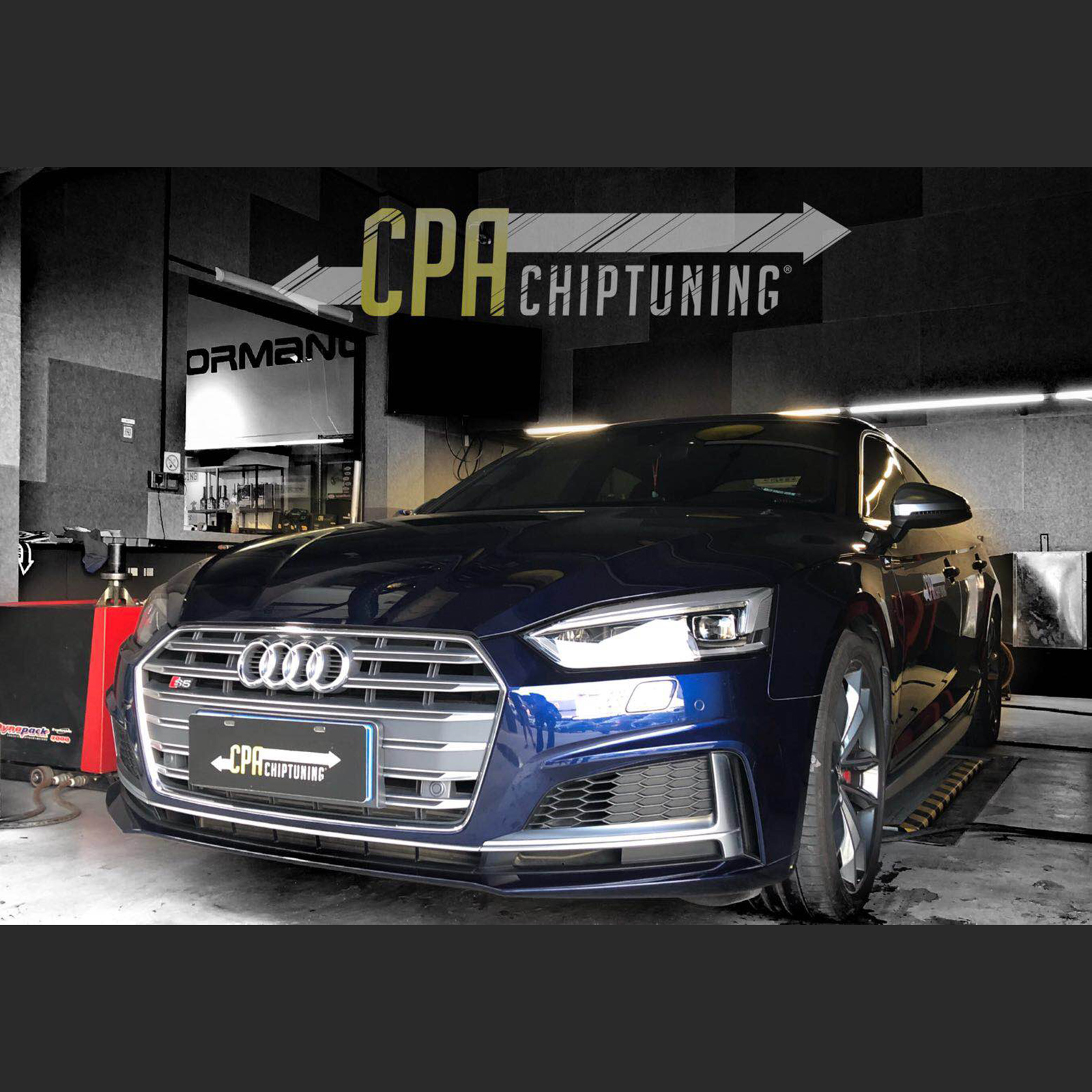Chiptuning Audi: S5 con CPA Power
