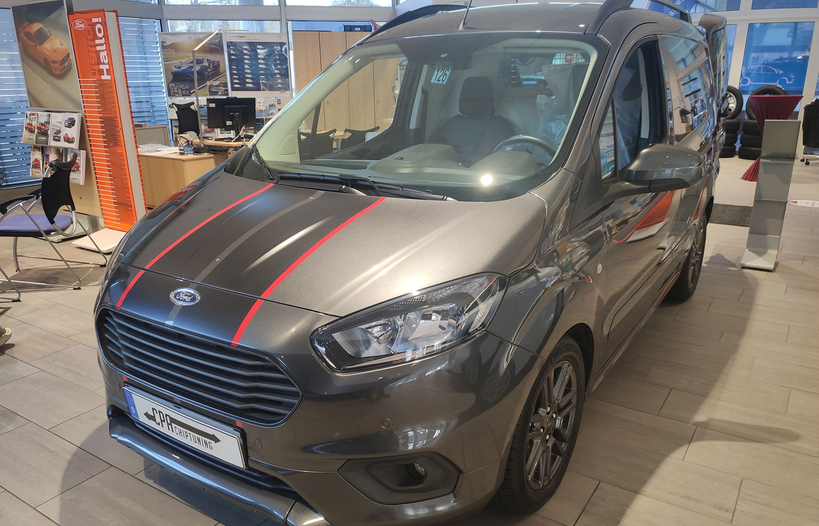 Ford Transit / Tourneo Courier 1.0 EcoBoost chiptuning